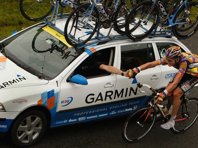Pro Cycling Is The Only Place Where Cars And Bikes Get Along (Kinda)