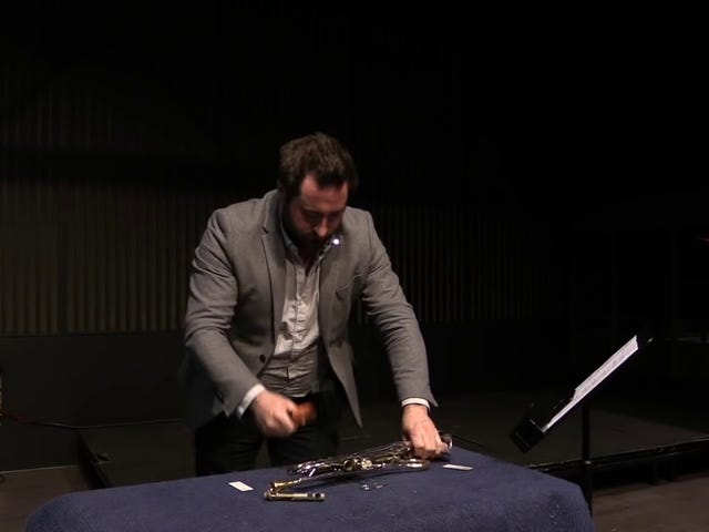 Metamorphosis – for Trumpet and Lump Hammer
