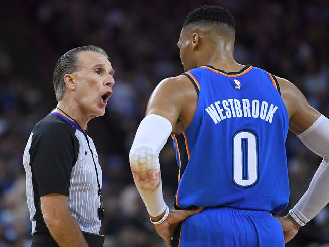 Report: Part Of Solution To NBA Player-Referee Acrimony Is Cutting Out The League Office