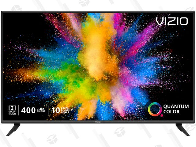 """รับพ่อของคุณสิ่งที่เขาต้องการจริงๆ 55 """"Vizio M-Series Quantum 4K Smart TV ราคา $ 399"""