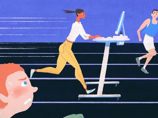 """Meja Berdiri Membuat Saya Lebih Produktif, Bahkan Jika Tidak """"Lebih Sehat"""""""