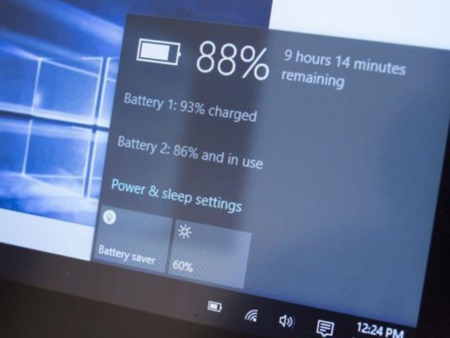 Cómo encontrar una función de informe de batería oculta en su computadora portátil con Windows 10