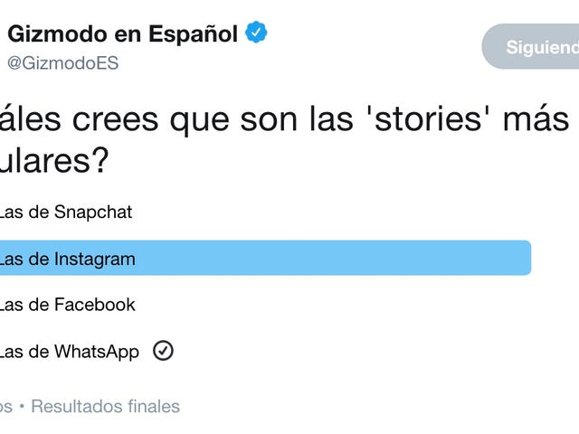 Aunque no lo creas, las 'stories' más populares no son las de Instagram