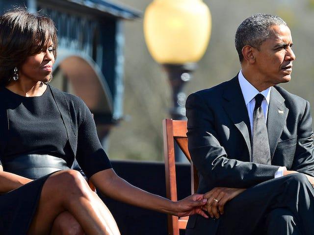 Ligesom hver 25-årig i Amerika, tænker Obamas på at flytte til NYC