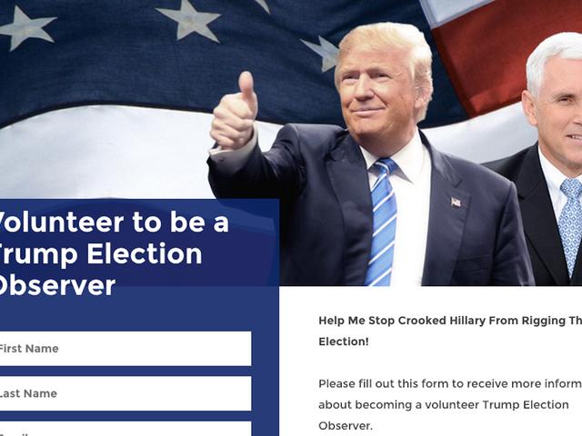 John Oliver modtager alarmerende e-mail efter tilmelding til at være en tromme 'valgobservatør'
