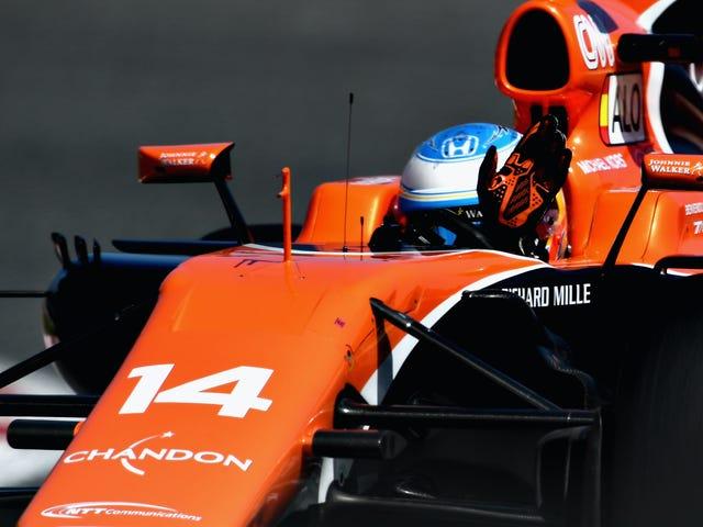 Alonso는 올해의 가장 나쁜 F1 차에서 스페인 웅대 한 Prix 기적을 잃어 버린다