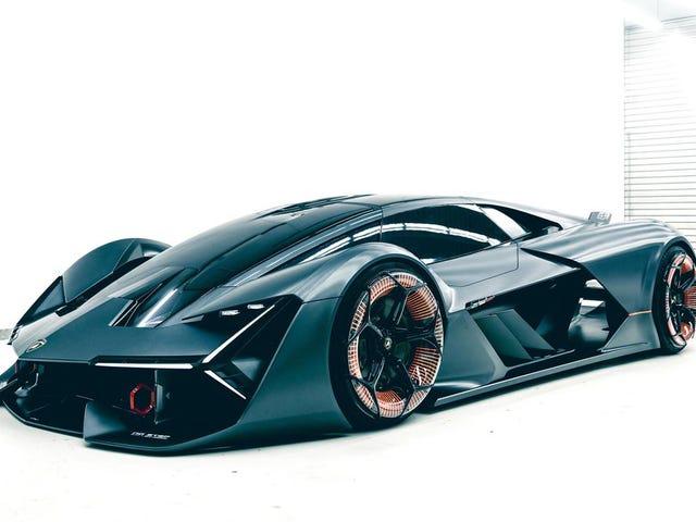 The Lamborghini Terzo Millennio Concept Is Lambo's Electric Sci-Fi Future