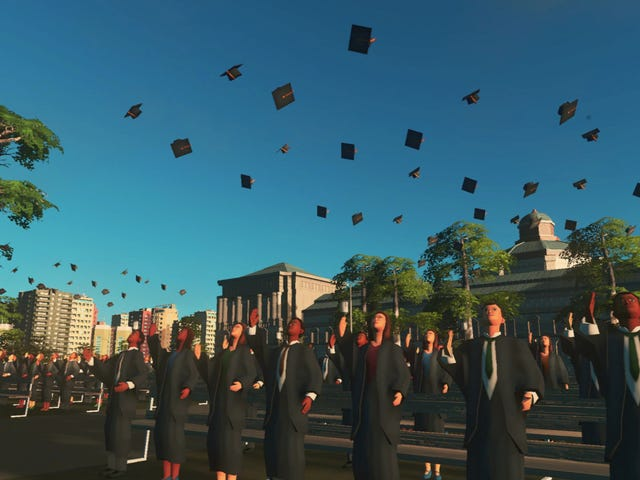 Cities: Skylines Is Going Back To College