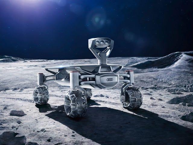 Un robot Alemán demostrará que la llegada del hombre a la Luna ingen fue ningún fraude
