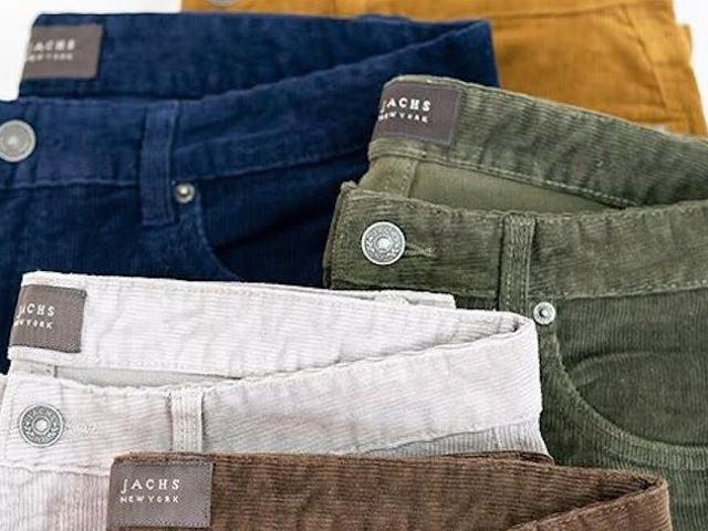 Stretchy Pants Will Always Be Here For You, Get a Pair of Stretch Corduroy For $30