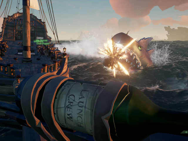 New Shark Hunt Finally Gets <i>Sea Of Thieves</i> Players To Cooperate