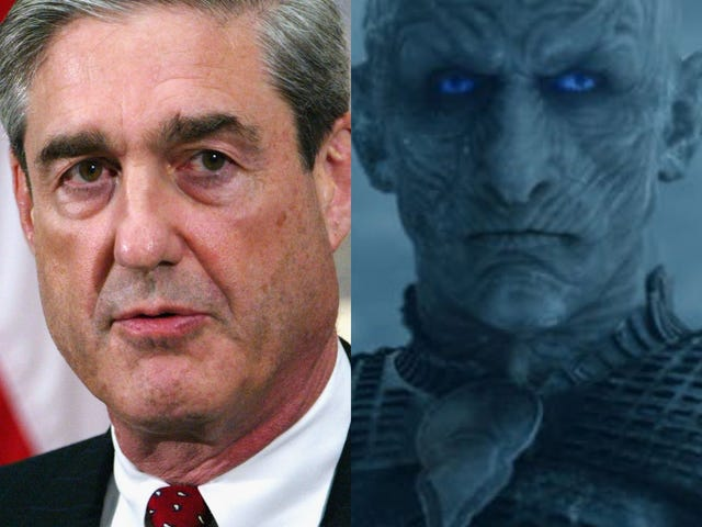 Reflections on Special Counsel Robert Mueller's Public Statement. First Thought: Damn, He Looks Like the Night King