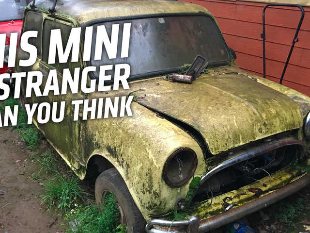 How I Found Some of the Strangest Minis Ever in a Random Neighborhood in Chile