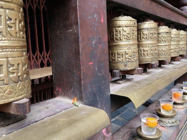 Serenity In Kathmandu.  Nepal.  Af Jonathan Stetson