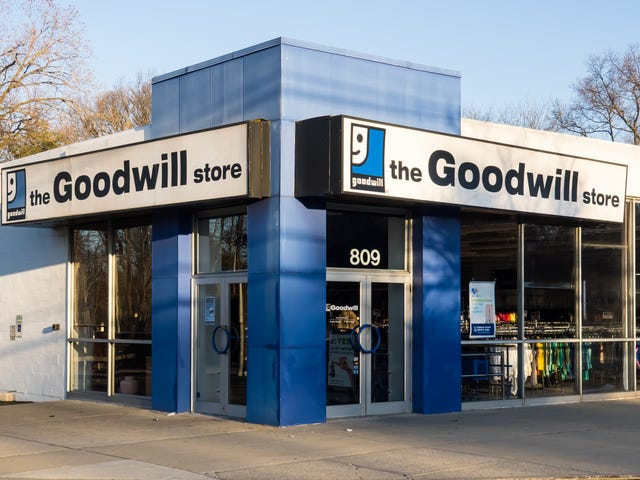 Goodbye to Good Thrifting? Goodwill Is Going the Luxury Resale Route