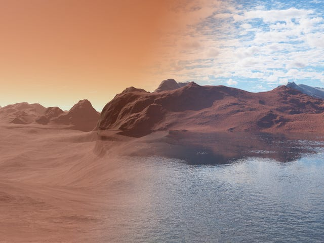 This Could Be Where Mars' Water Disappeared to