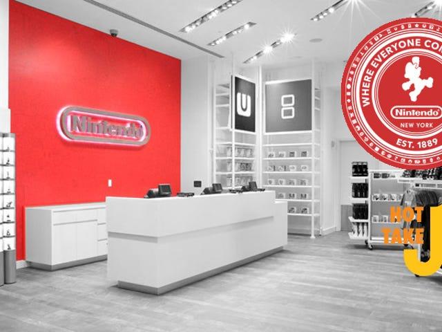 Hot Take: Nintendo Store NYC