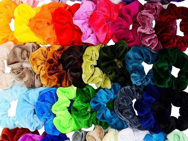 Actually, Scrunchies Have Always Ruled