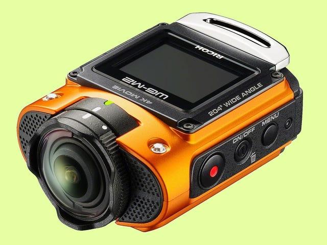 La nouvelle caméra d'action de Ricoh capture 204 degrés de vos escapades
