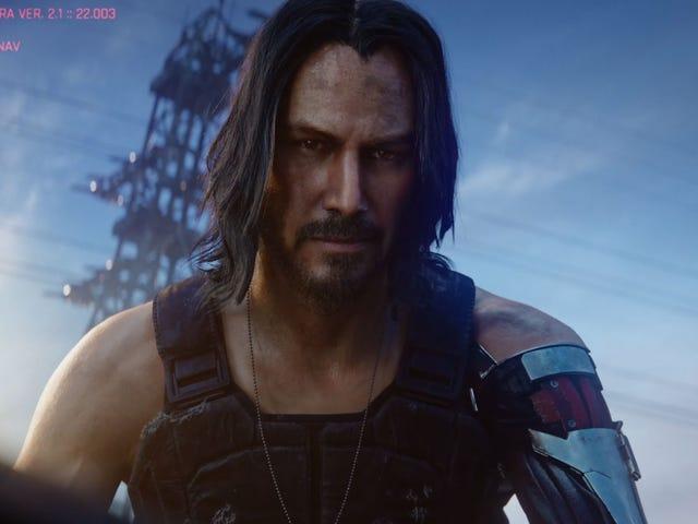 <i>Cyberpunk 2077</i> ra mắt vào tháng 4 năm 2020, sẽ giới thiệu Keanu Reeves
