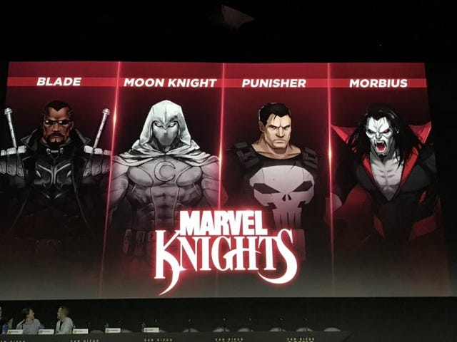 Announced at Marvel's games panel at San Diego Comic-Con, the first chapter in the Marvel Ultimate A