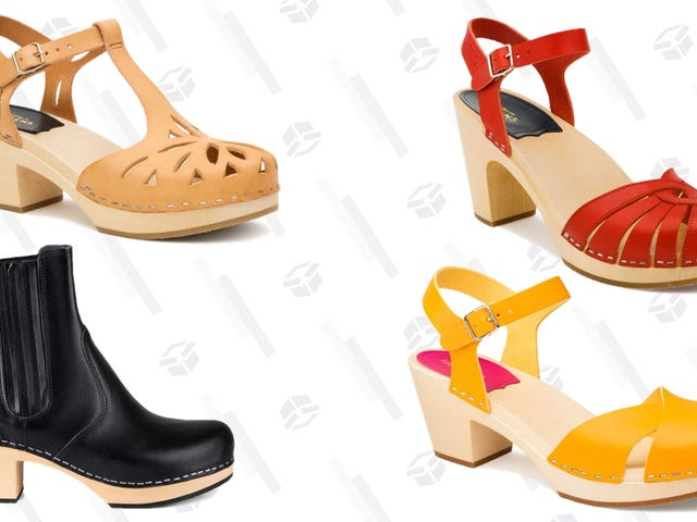 Swedish Hashbeens' Summer Sale is Clogs Galore
