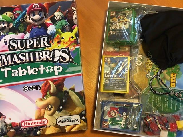 Fan Creates <i>Smash Bros.</i> Board Game