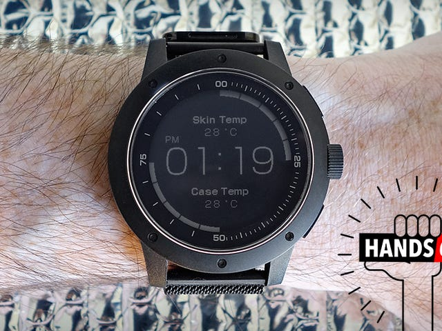 This Smartwatch Is Powered by Body Heat, and That's Cool as Hell [Updated]