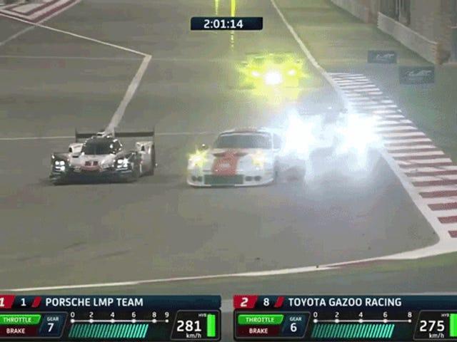 Porsche On Porsche Carnage Takes Porsche 919 Out Of Leading Its Last Race