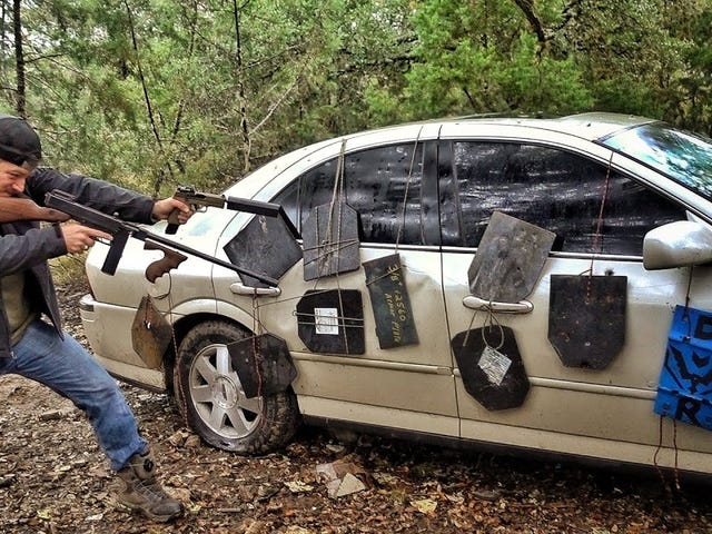 two of my favourite things - cars and guns