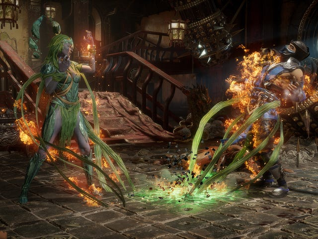 "Mortal Kombat 11 will receive ""krossplay"" between PlayStation 4 and Xbox One as part of an upcoming"