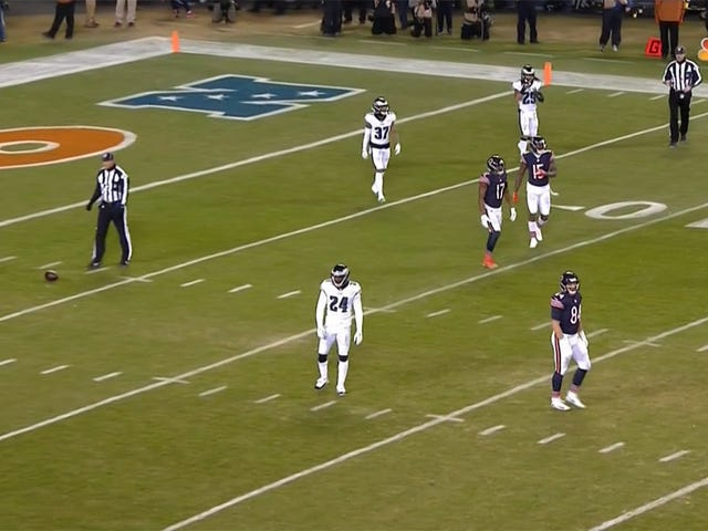 Bears Complete 30-Yard Pass For No Gain As Officials Recover Fumble
