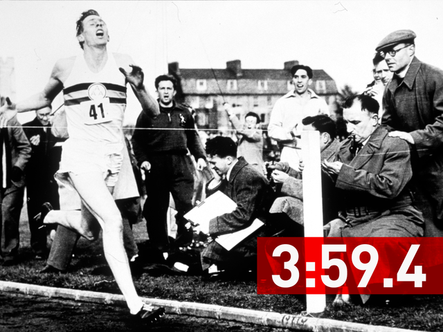 The First Four-Minute Mile, In One Pain-Wracked Photo