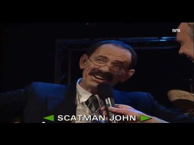 Scatman Sunday!