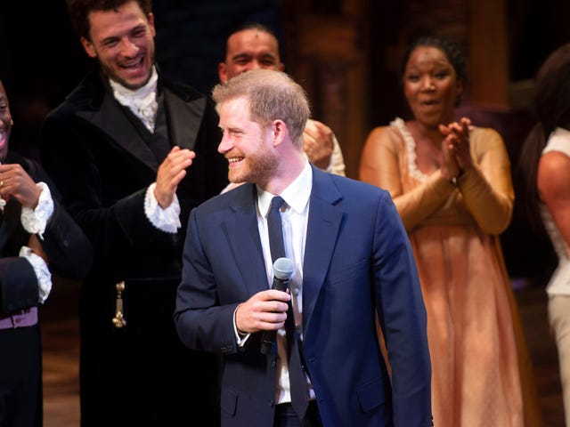 Prince Harry Definitely Wanders Around Kensington Palace Warbling Songs from Hamilton