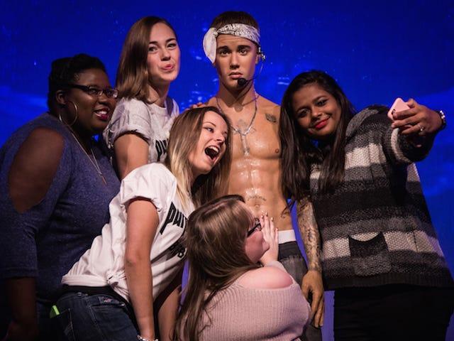 저스틴 Bieber는 서사시 무대 마네킹 챌린지 않습니다