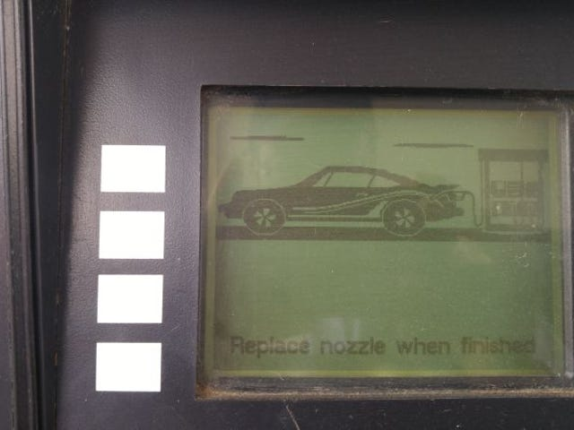 I don't like being reminded my life isn't what I thought it should be by crappy gas pump graphics.