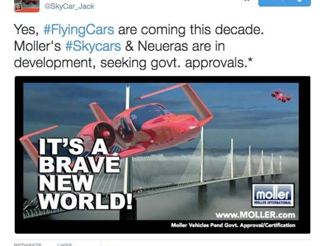 Polizei Report 002: More Flying Cars, Even More Flying Cars, Tesla Model S Hack