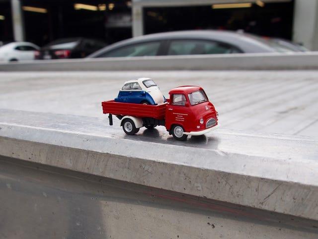 ///May - Kleinwagen Und Lastwagen: Schuco Isetta and Hanomag Kurier