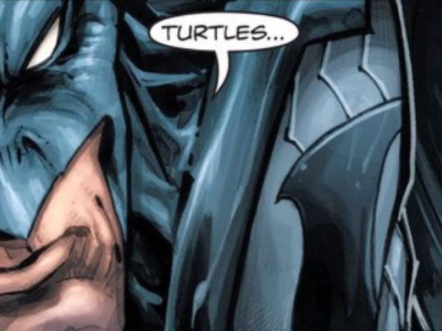 El Batman / Teenage Mutant Ninja Turtles Comic es sorprendentemente bueno