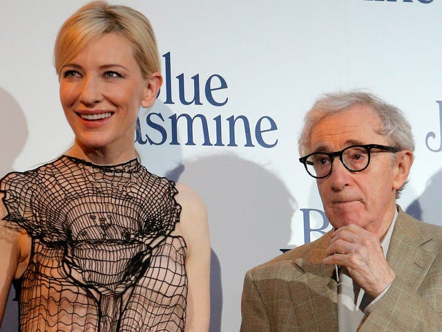 Cate Blanchett Says She Didn't Know About Allegations Against Woody Allen Before Working With Him on Blue Jasmine