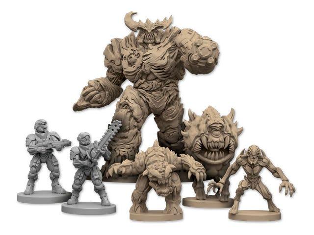 The New <i>Doom </i>Board Game Looks Hot