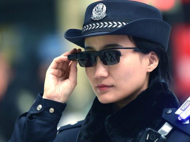 ला पोलिसिया एस्टा यूज़िज़ांडो गफ़स डे रिकोसिमिएंटो फेशियल एन चाइना पैरा आइडेंटिफ़ायर क्रिमिनल्स (ये लेलेवन 7)