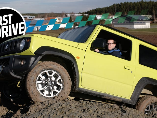 The 2018 Suzuki Jimny Is the Off-Road Bargain of Your Dreams, and the Highway Cruiser of Your Nightmares