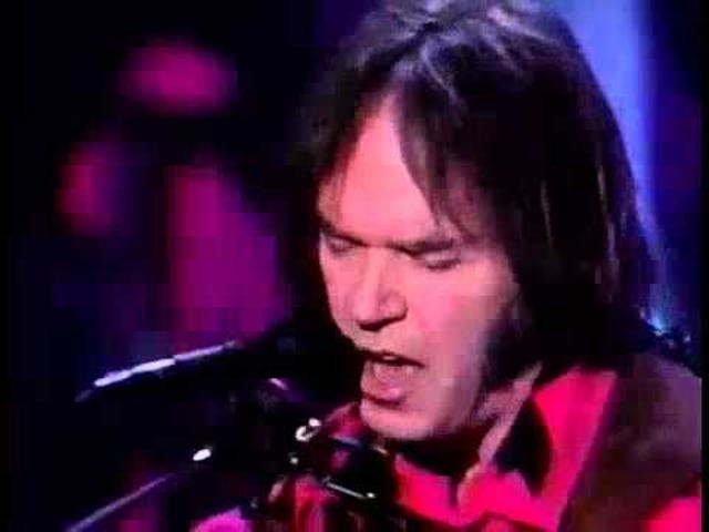 The Crazy Horse pt 2: Neil Young's Harvest Moon --  I remember watching this live