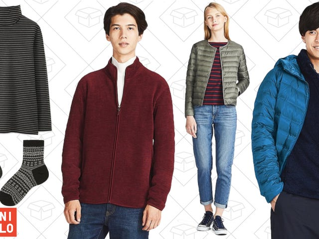 Uniqlo Has a Ton of Outerwear and HEATTECH On Sale For Black Friday, Plus Free Shipping