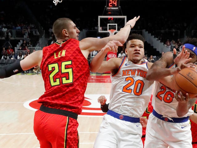 The Hawks And Knicks Recreate The Basketball Equivalent Of Throwing Up In Your Mouth