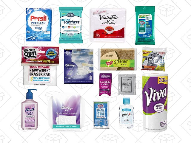 Grab a $15 Sample Box Of Household Items You Probably Need Anyway And Get $15 Back