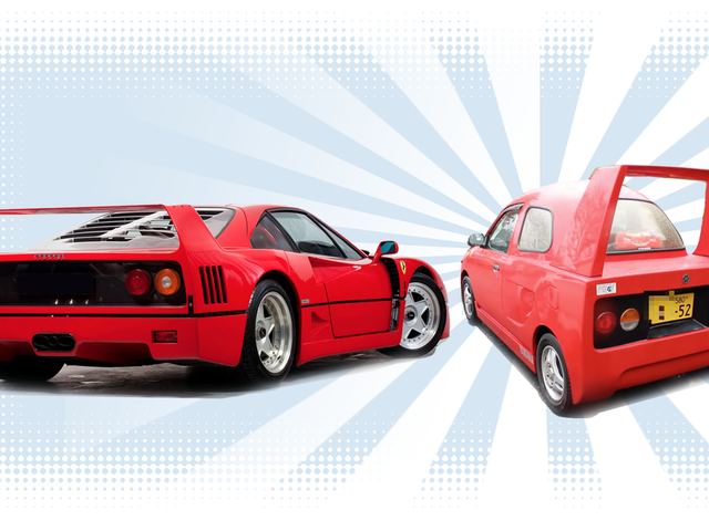 This Tiny Car Wanted To Be A Ferrari F40 Just So Badly