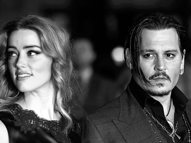 Amber hörs arkiverad för skilsmässa eftersom Johnny Depps familj rapporterat hatar hennes tarmar